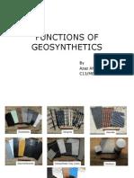Functions of Geosynthetics