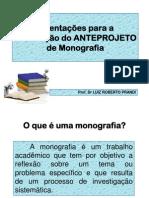 Anteprojeto de Monografia