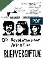 agit 883  Bremen - Hannover Ausgaben 72-73