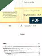 Drept Internaţional Privat - I.chelaru,Gh.gheorghiu - 2007