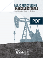 Hydraulic Fracturing In the Marcellus Shale