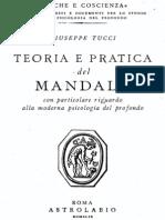Tucci, Teoria e Pratica Del Mandala