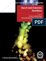 Sport and Exercise Nutrition (the Nutrition Society Textbook)