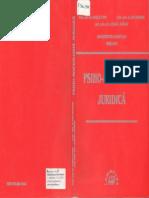 Psiho-sociologie Juridică - V.popa,I.drăgan,L.lăpădat