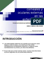 Manifestaciones corneales y oculares externas en las enfermedades sistémicas