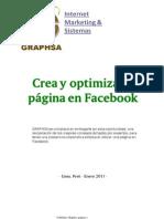 Crea y Optimiza Tu Pagina de Facebook Por Graphsa
