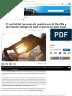El Control Del Consumo de Gasolina Con La Libretilla y Los Tickets_ Ejemplo