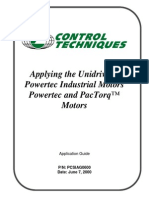 Powertec Ind With Unidrive-pcsiag0600