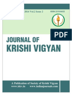 Journal of Krishi Vigyan Vol 2 issue 2