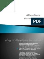 attendance info