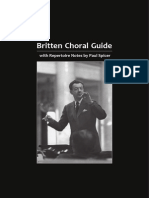 Brit Ten Choral English