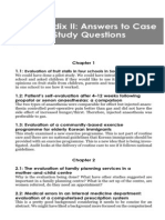 Small-scale evaluation in health. Cap.13 Appendix 2. Answers to case study questions