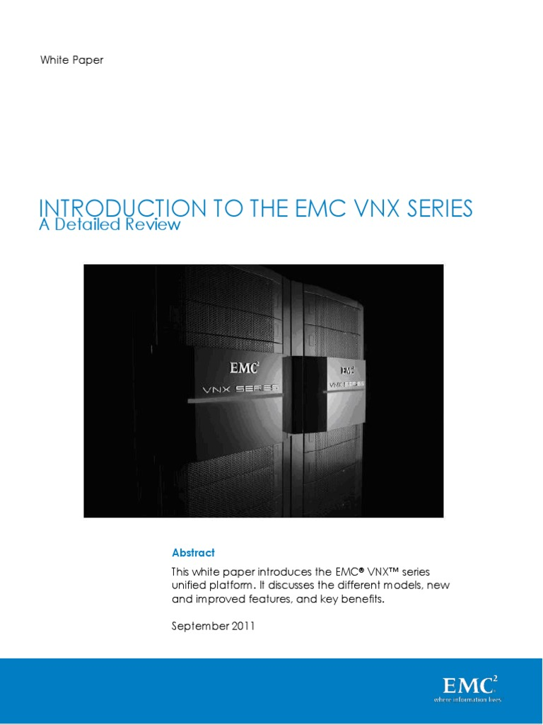 EMC Introduction on VNX   Hard Disk Drive   Computer