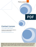 Contact Lenses Patent Search and Analysis Report