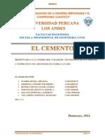 Monografia Del Cemento Tecnologia de Los Materiales (Autoguardado)