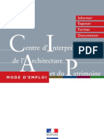 Centre d'Interprétation de l'Architecture et du Patrimoine_ le guide