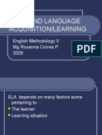 04-Second Language Acquisition