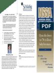 nssa course brochure