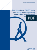 Reactions Impact Regulatory Constraints ALM Pension Funds
