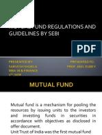 Mutual Fund SEBI Regulation