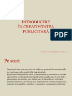 Handout Curs creativitate publicitara