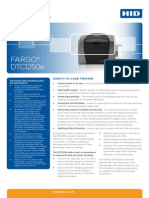 HID Fargo DTC1250e Printer