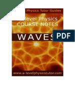 Waves A level physics