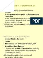 Introduction to Maritime Law