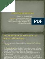 Psicología Jurídica Presentación Clase 1