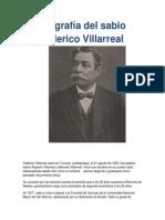 Biografía Del Sabio Federico Villarreal