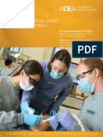 2014 ADEA Official Guide to Dental Schools for Students Entering in Fall 2015
