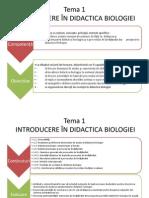 Didactica Biologiei i