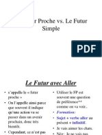 Le Futur Proche vs Le Futur Simple