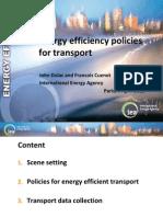 Eficienta Energiei in Transporturi