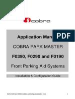 Cobra Park Master F0390 F0290 F0190 Installation and Configuration Guide - Rev 1