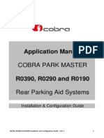 Cobra Park Master R0390 R0290 R0190 Installation and Configuration Guide - Rev 1