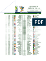 Quiniela Brasil 2014