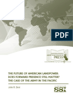 The Future of American Landpower