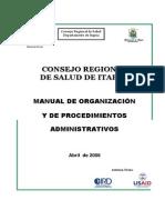 Manual OrganizacionyProcedimientos Itapua