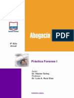 4o Ano - Practica Forense i Ugs, Led, Oran, Tart, San Pedro, Metan