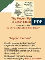 Modern Literature
