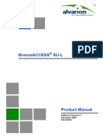 SU-L Alvarion Ver_3.1 Product Manual_091208