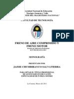 Monografía - Freno de Aire Comprimido y Freno Motor