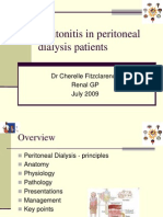 Peritonitis in Pd Patients