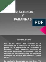 Asfaltenos y Parafinas-presentacion
