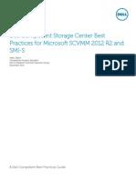 Dell Compellent Storage Center Best Practices for Microsoft SCVMM 2012 R2 and SMI-S V3k