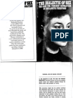 Shulamith Firestone -- The Dialectic of Sex