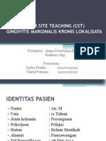 CST Gingivitis Marginalis 28-5-2014 Tia Dan Nurul
