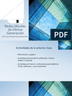 Redes Móviles de Última Generación 3ra Clase