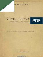 Dionisie Fotino-Vietile Sultanilor